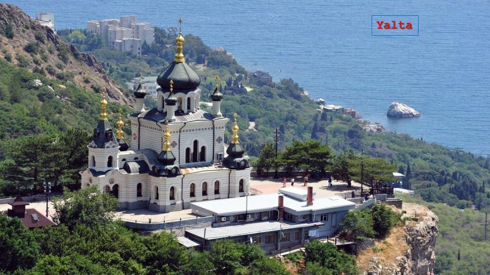 Yalta Chiesa Alexander Nevsky