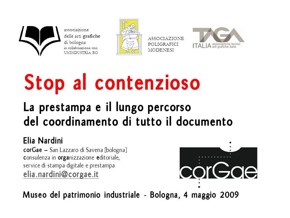 Un percorso lungo 2 anni 21 febbraio 2007 prima riunione a Modena A settembre 2007 il progetto stenta a trovare una formulazione in linea con la necessità di produrre un vero aggiornamento.