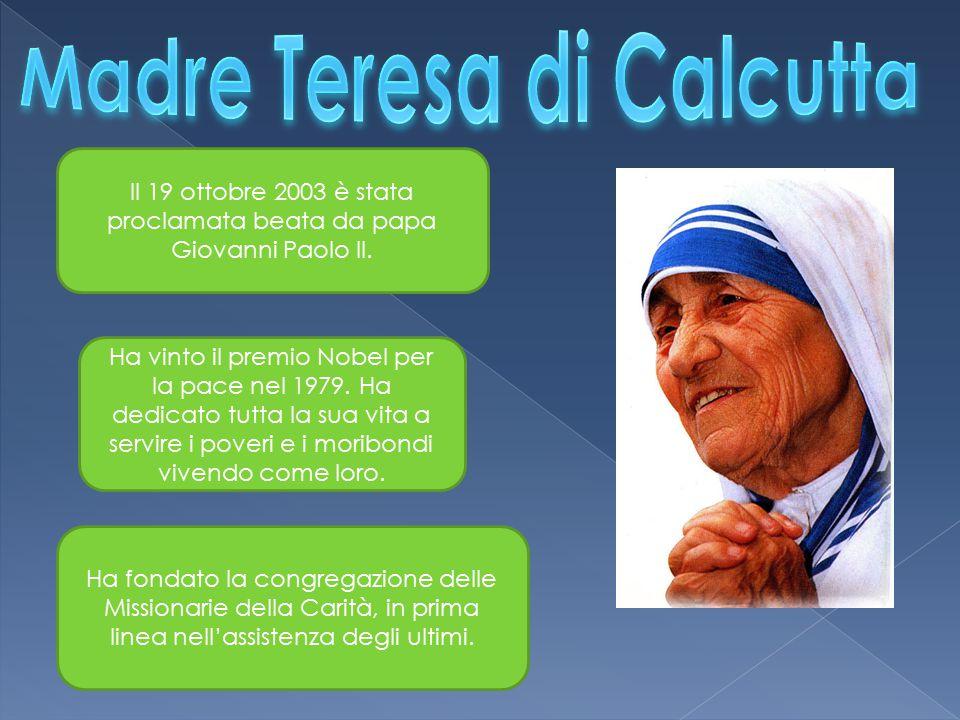 Il 19 ottobre 2003 è stata proclamata beata da papa Giovanni Paolo II.