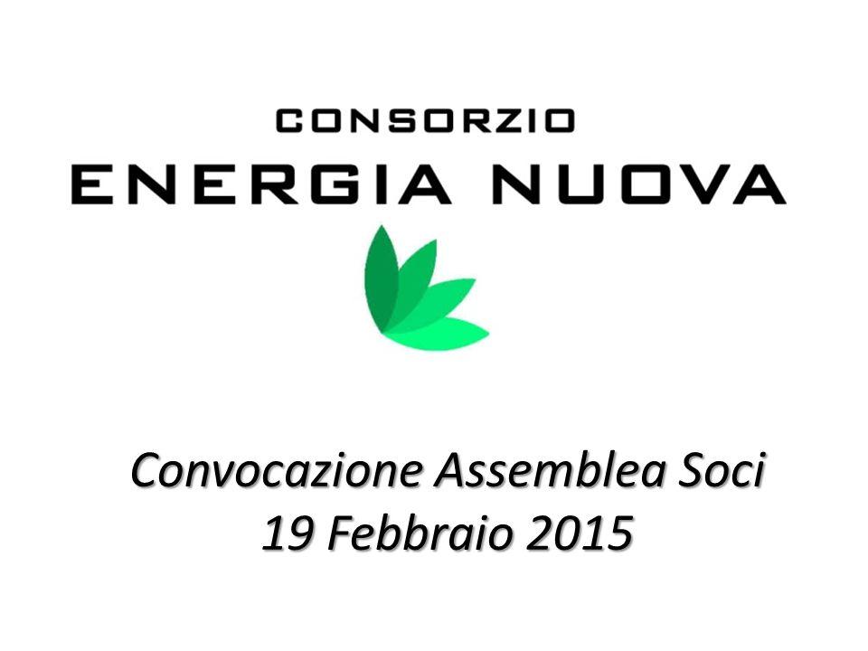 Convocazione Assemblea Soci 19 Febbraio 2015