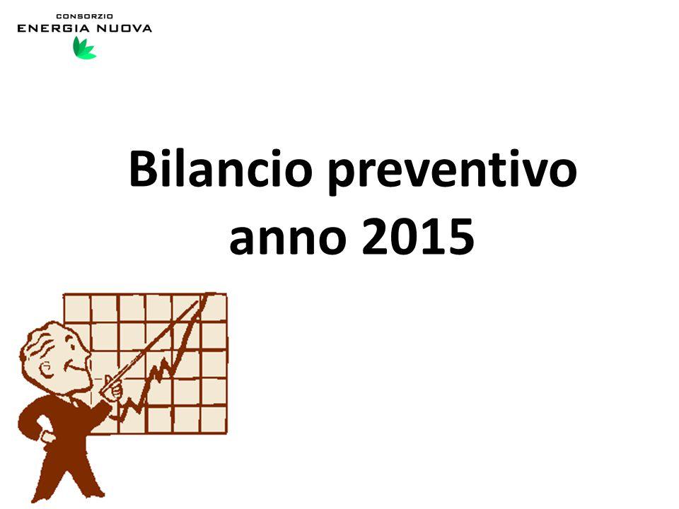 Bilancio preventivo anno 2015