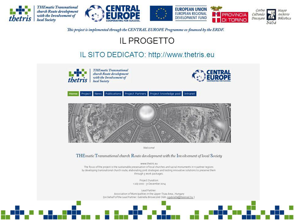 IL PROGETTO IL SITO DEDICATO: http://www.thetris.eu