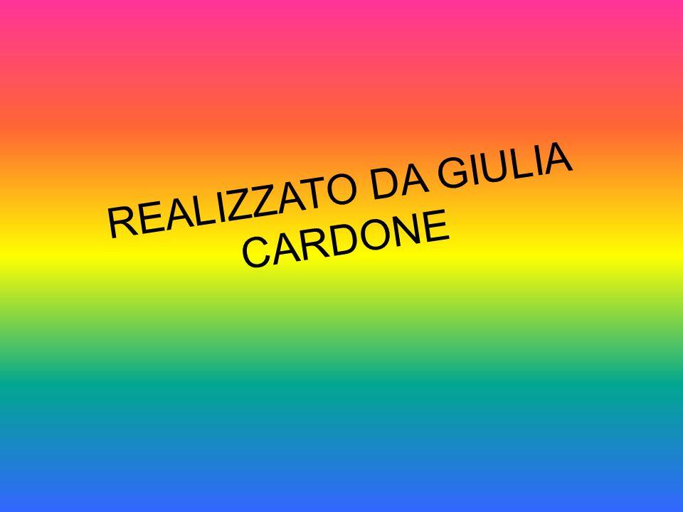 REALIZZATO DA GIULIA CARDONE