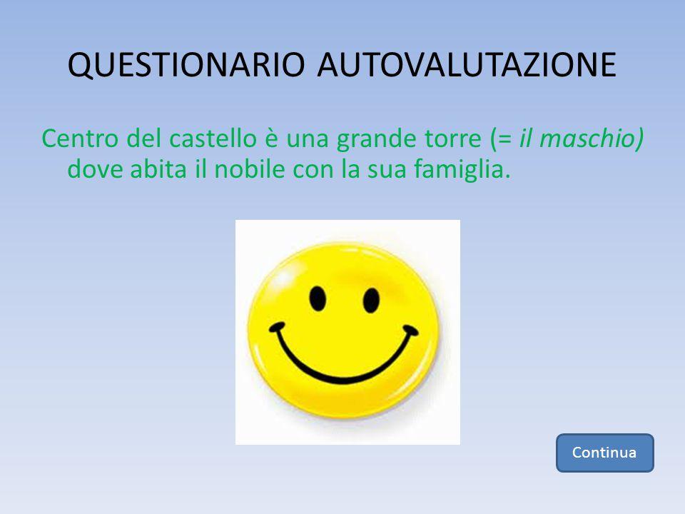 QUESTIONARIO AUTOVALUTAZIONE 3.
