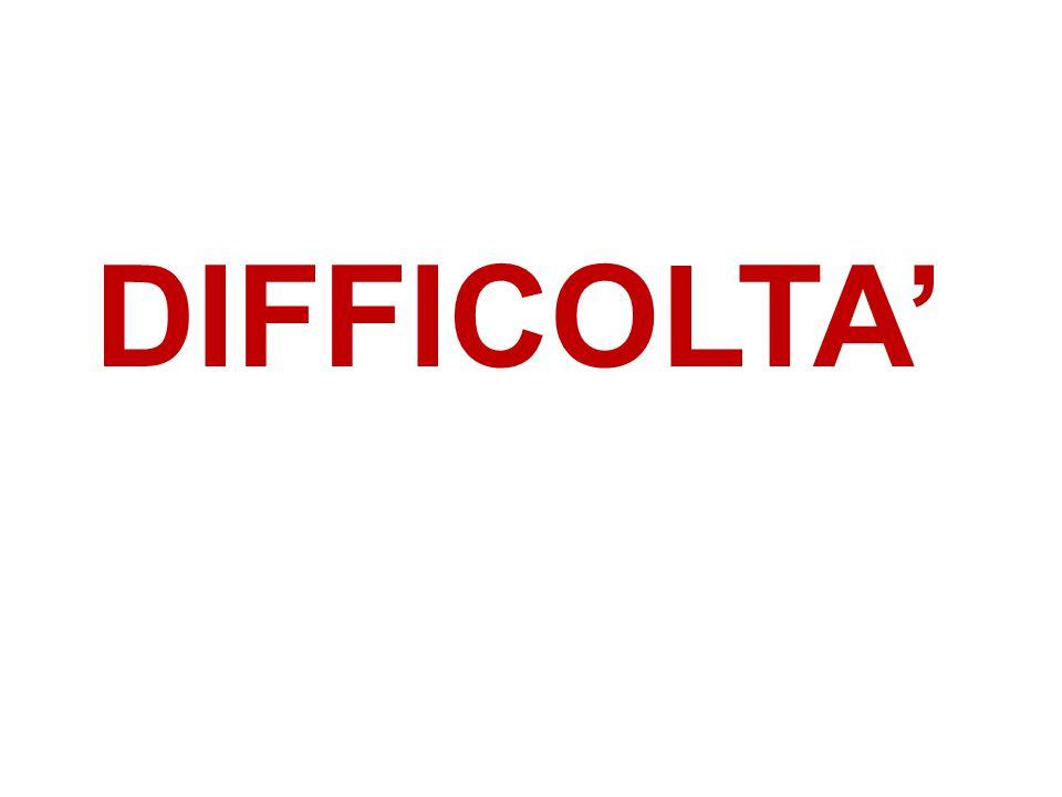 12 DIFFICOLTA'