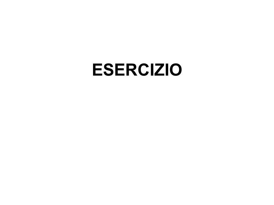 35 ESERCIZIO