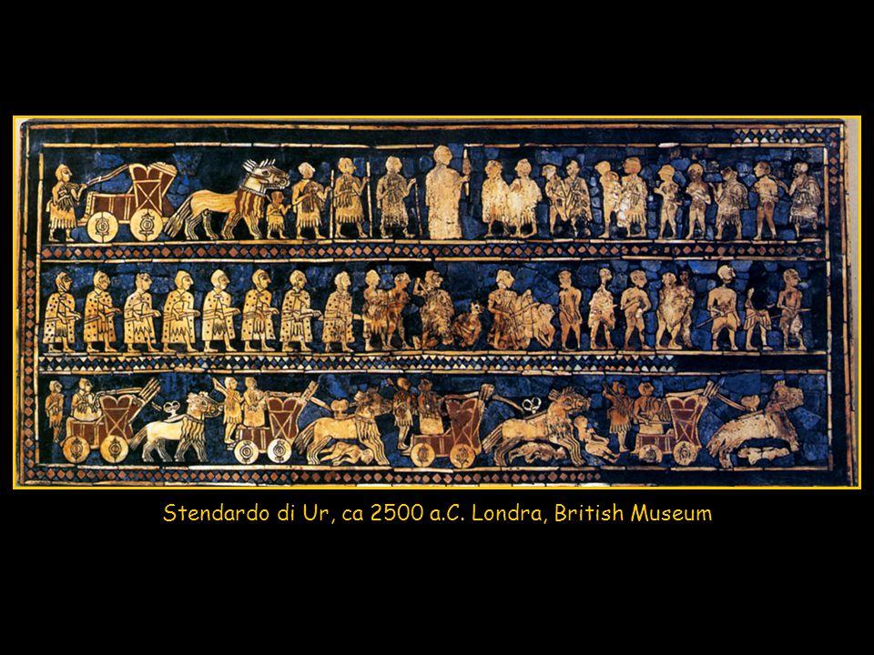 Stendardo di Ur, ca 2500 a.C. Londra, British Museum