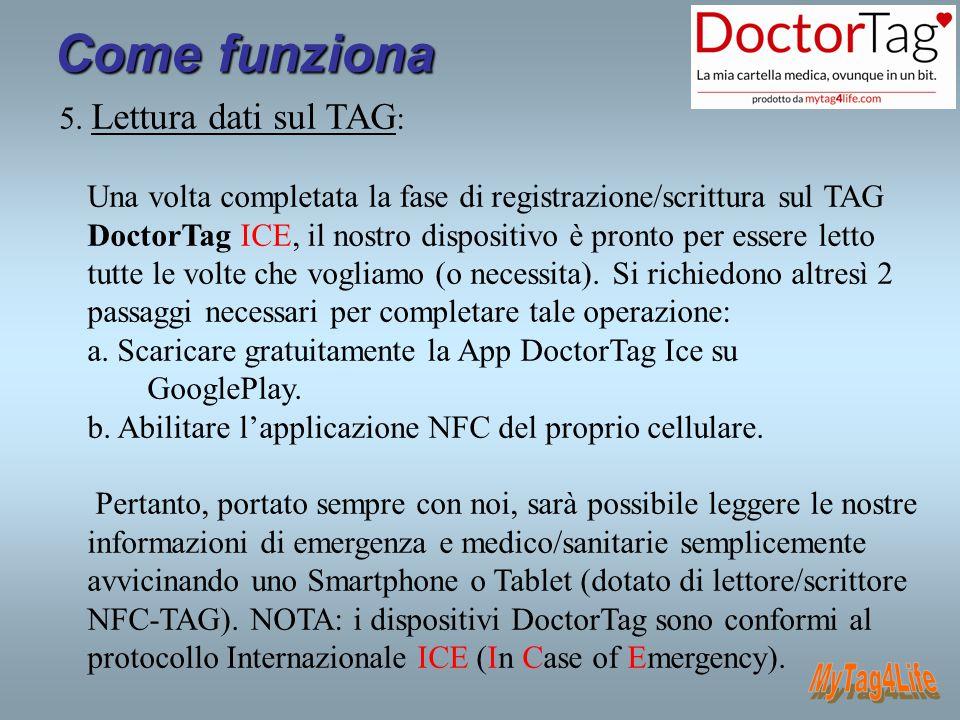 Applicazioni a venire - MyTag4Life-PET : simile al DoctorTag ICE, ma dedicata ai nostri amici a 4 zampe (numeri di emergenza, invio posizione, scheda medica, caratteristiche pedigree e altro).