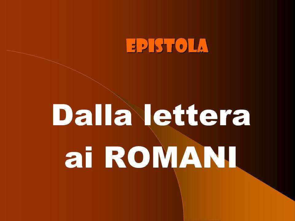 Epistola Dalla lettera ai ROMANI