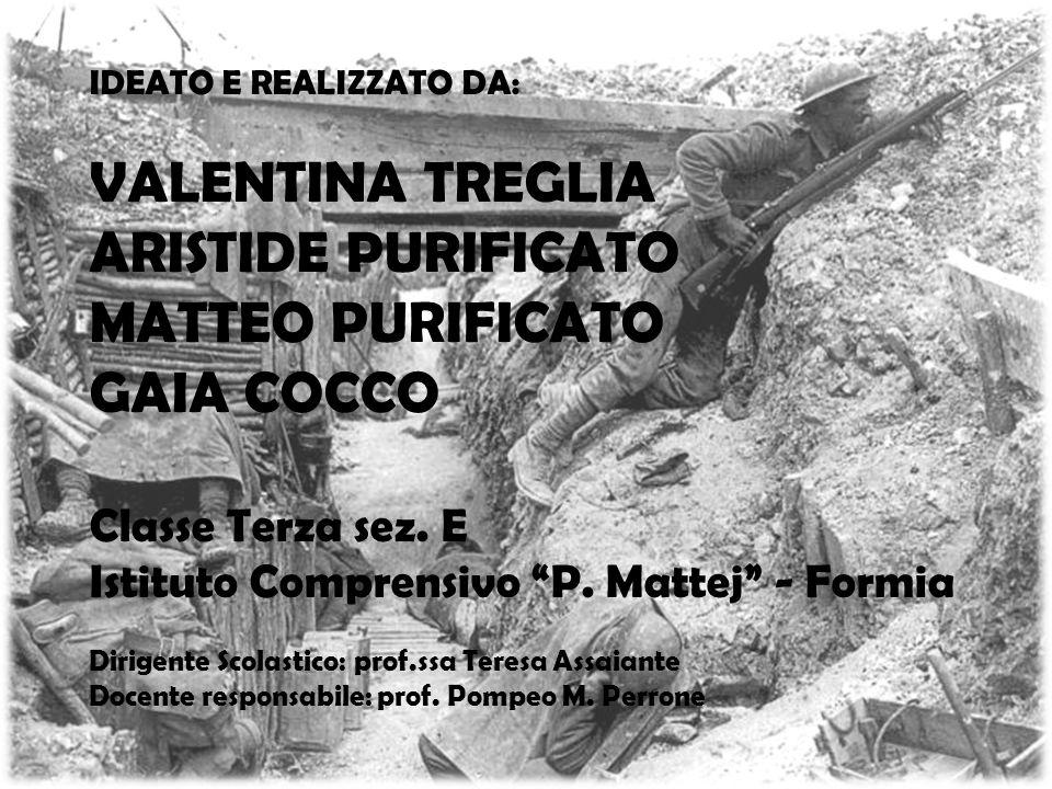"""IDEATO E REALIZZATO DA: VALENTINA TREGLIA ARISTIDE PURIFICATO MATTEO PURIFICATO GAIA COCCO Classe Terza sez. E Istituto Comprensivo """"P. Mattej"""" - Form"""