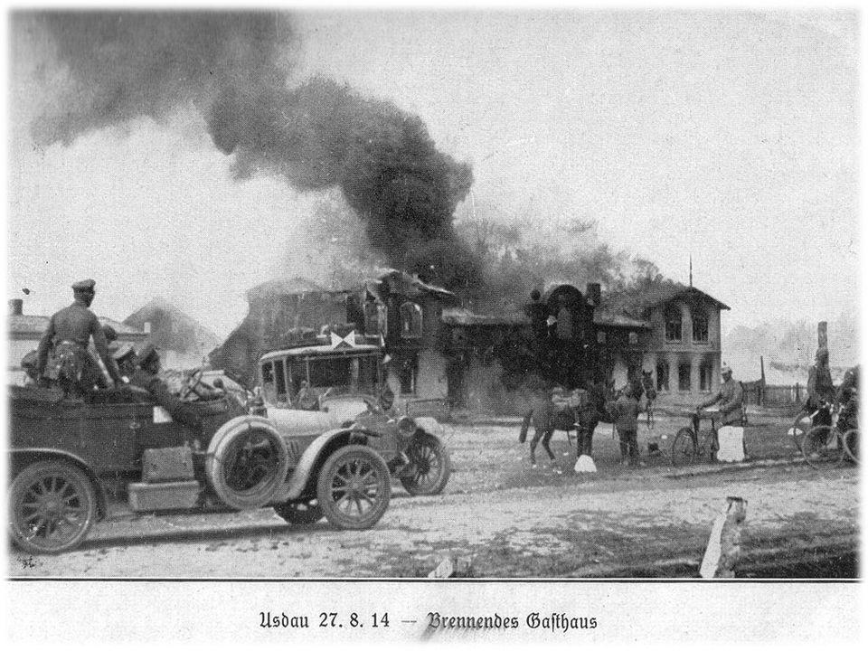 Il pretesto dello scoppio della guerra fu dato dall'attentato a Sarajevo, ai danni dell'erede al trono austriaco Francesco Ferdinando, da parte di un indipendentista slavo.
