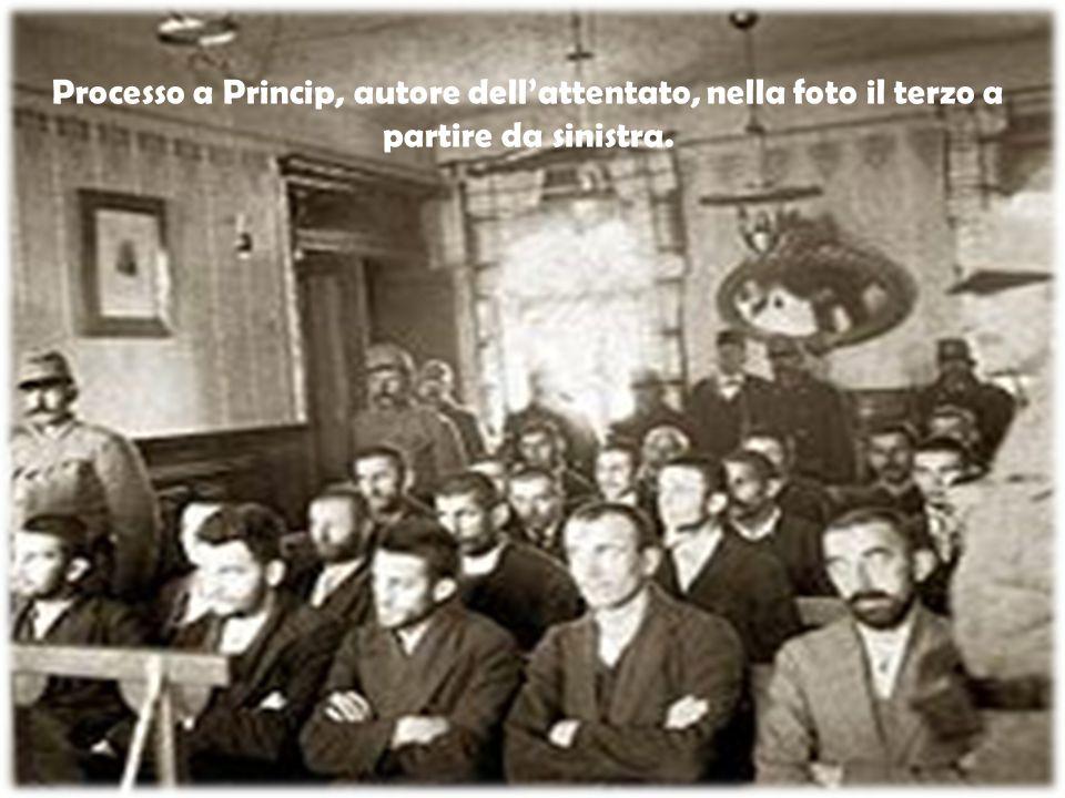 L attentato vide la partecipazione, oltre a Princip, anche di altri cinque compatrioti.