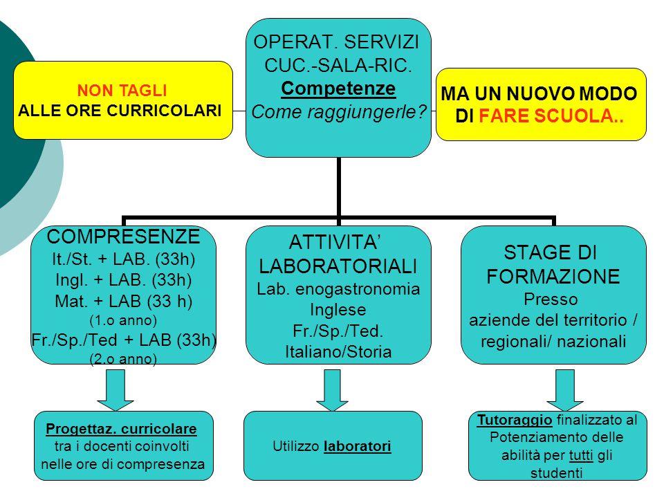 Progettaz.curricolare tra i docenti coinvolti nelle ore di compresenza Es.