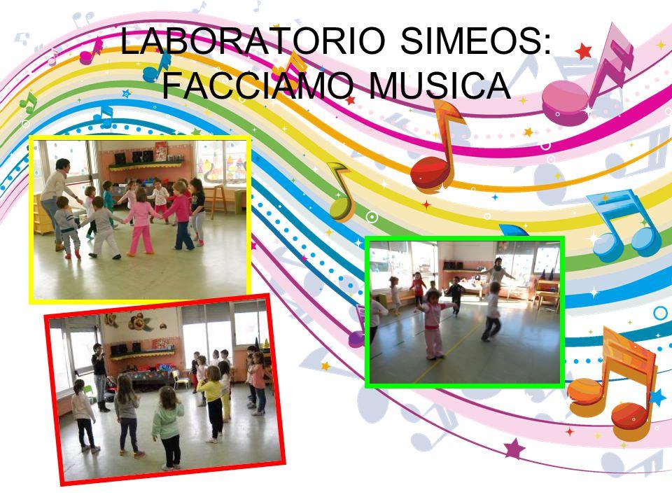 LABORATORIO SIMEOS: FACCIAMO MUSICA