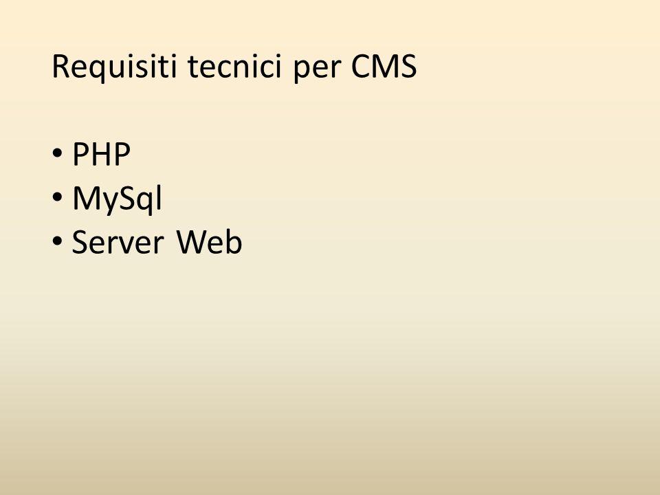 Estensioni Una delle caratteristiche più interessanti di Joomla è quella di permettere l ampliamento delle funzionalità di un sito web semplicemente installando e configurando correttamente delle Estensioni.