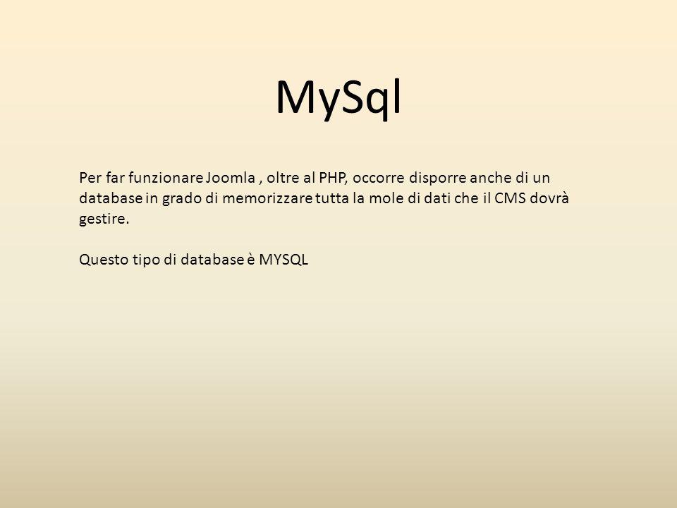 Server remoto Il Provider deve fornire un ambiente con le seguenti caratteristiche : Linux  Sistema operativo Apache  Server Web PHP  Supporto linguaggio MySql  Gestione data base relazionale Server web