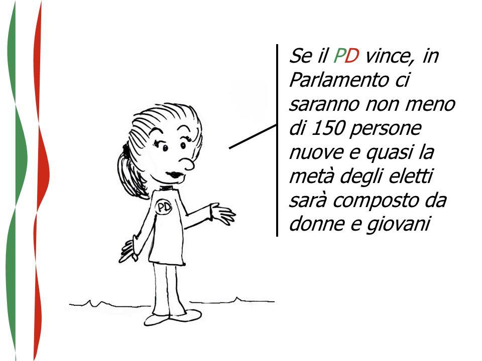 Se il PD vince, in Parlamento ci saranno non meno di 150 persone nuove e quasi la metà degli eletti sarà composto da donne e giovani