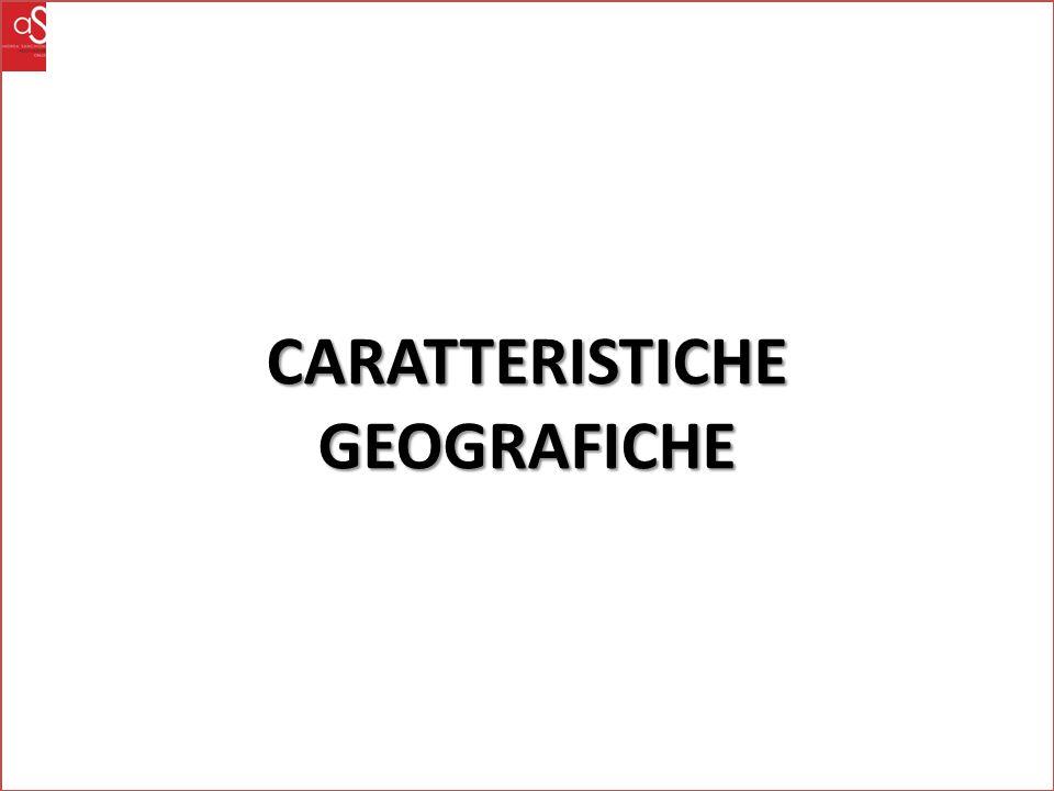 CARATTERISTICHEGEOGRAFICHE