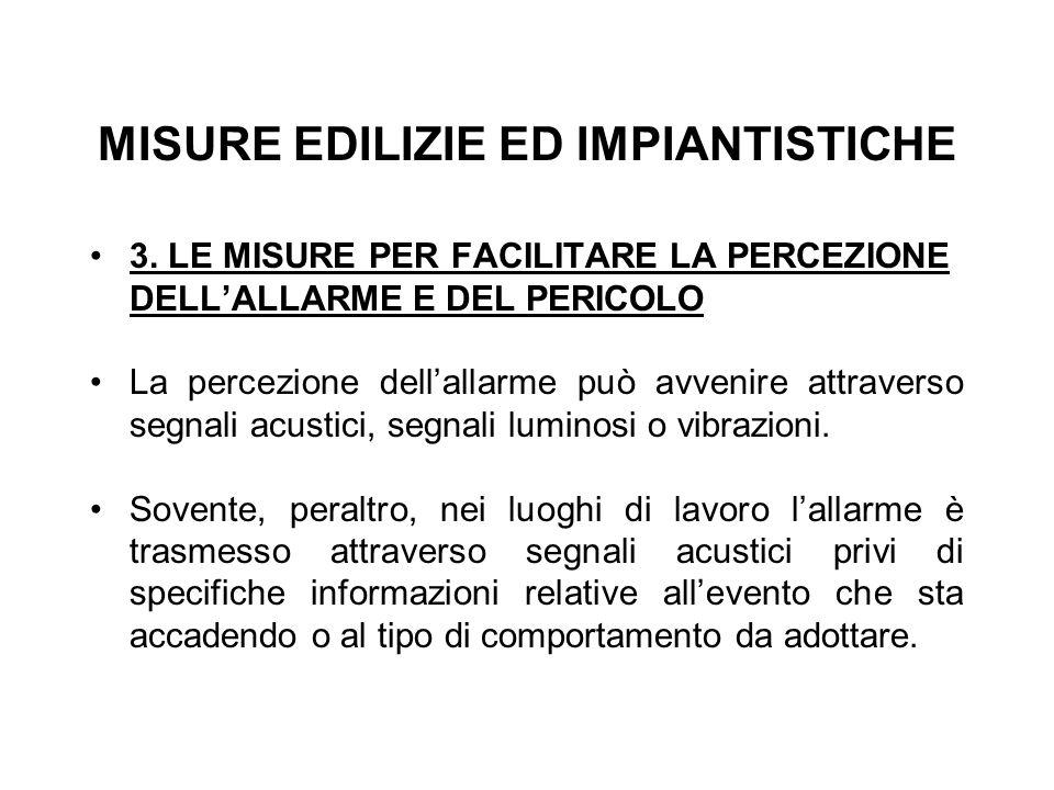 MISURE EDILIZIE ED IMPIANTISTICHE 3.