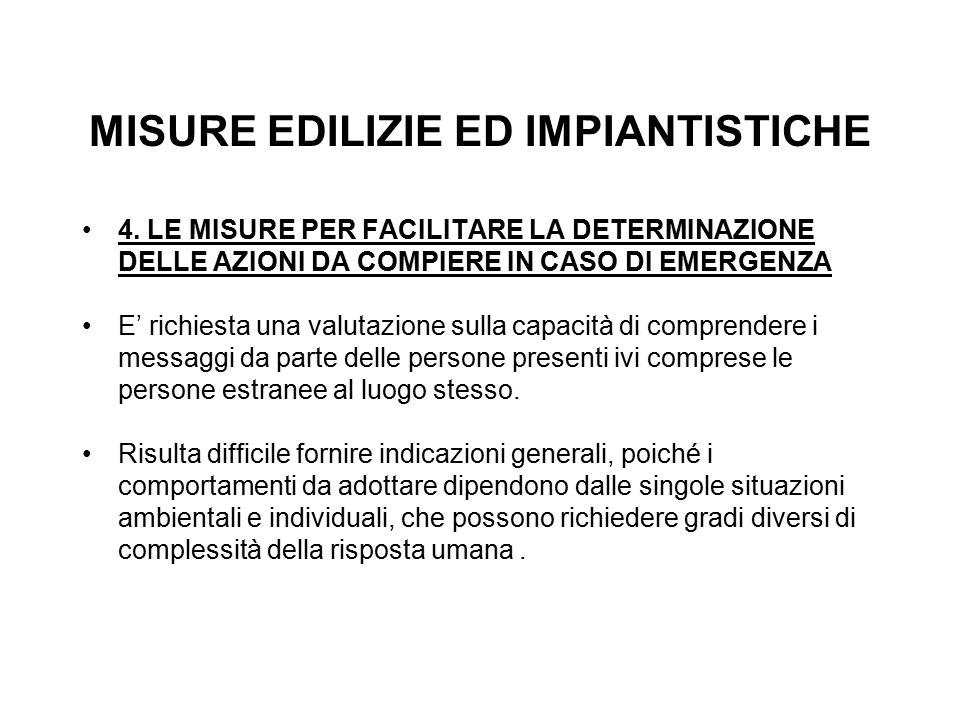 MISURE EDILIZIE ED IMPIANTISTICHE 4.
