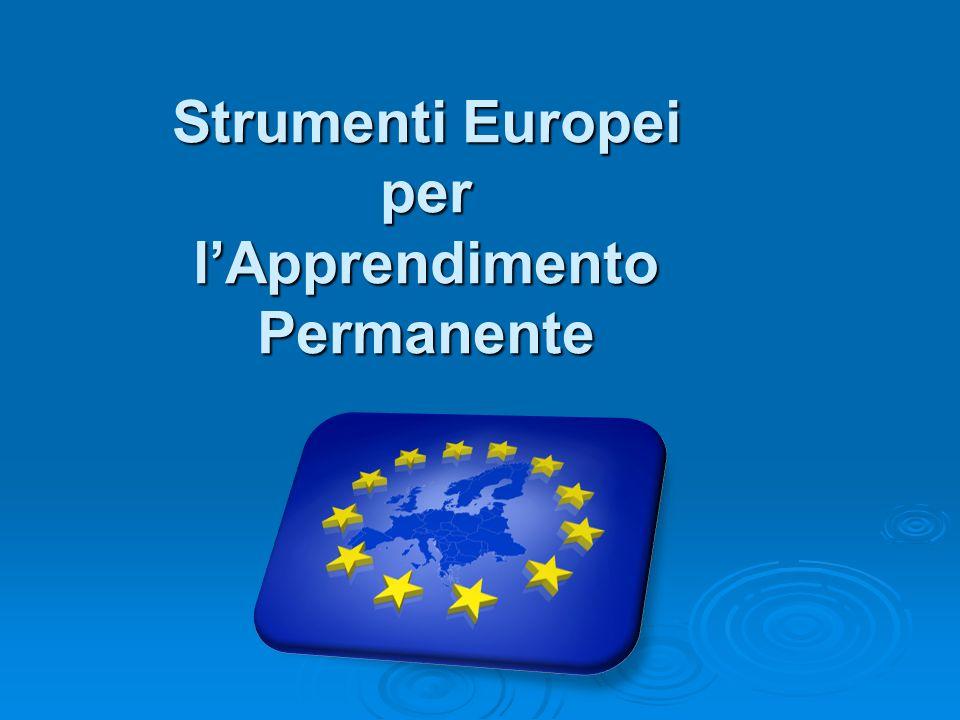 Strumenti Europei per l'Apprendimento Permanente