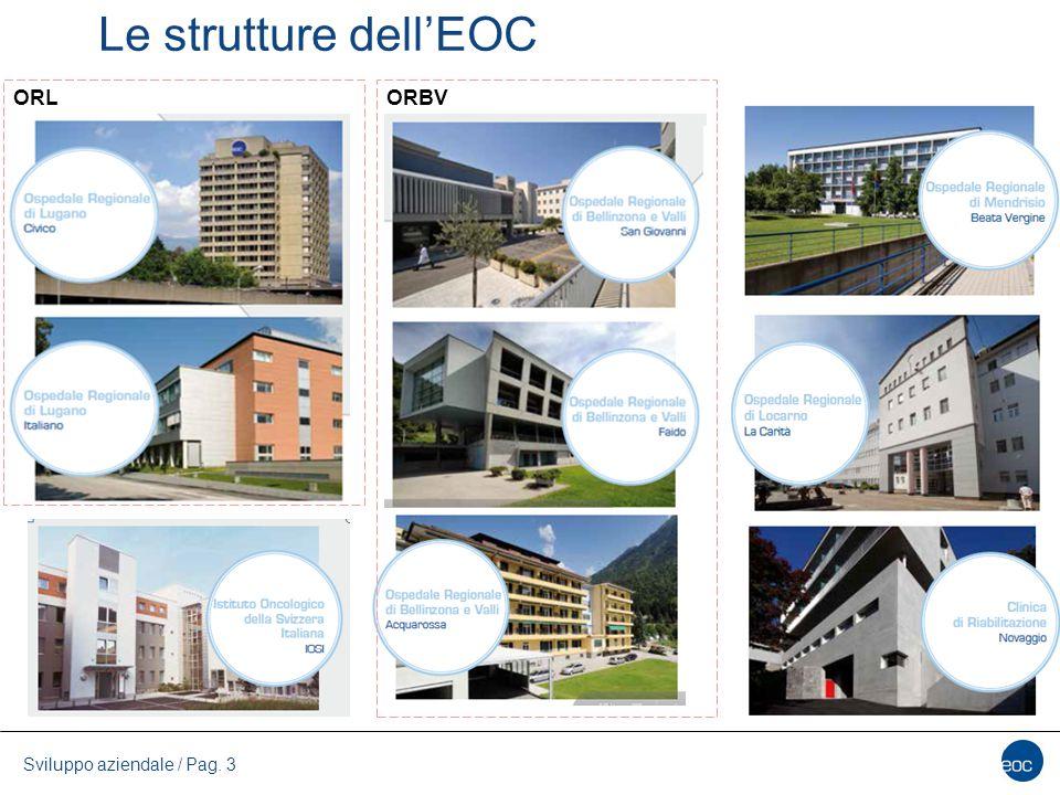 Sviluppo aziendale / Pag. 3 Le strutture dell'EOC ORLORBV