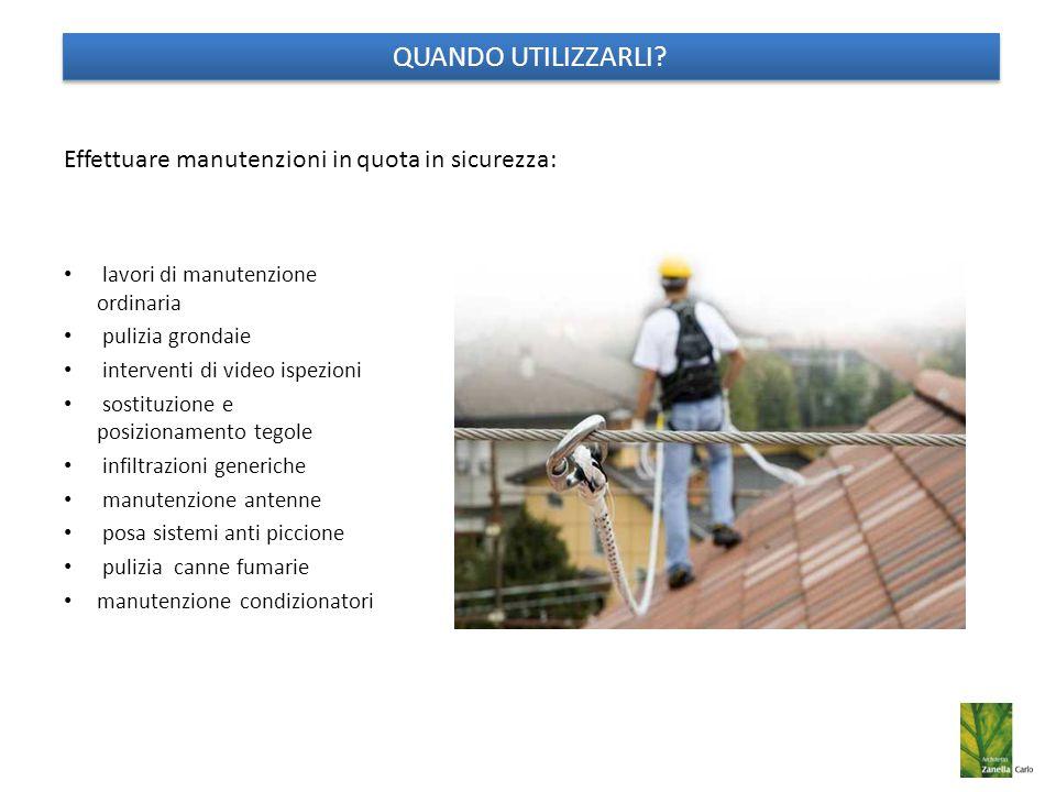 Effettuare manutenzioni in quota in sicurezza: lavori di manutenzione ordinaria pulizia grondaie interventi di video ispezioni sostituzione e posizion