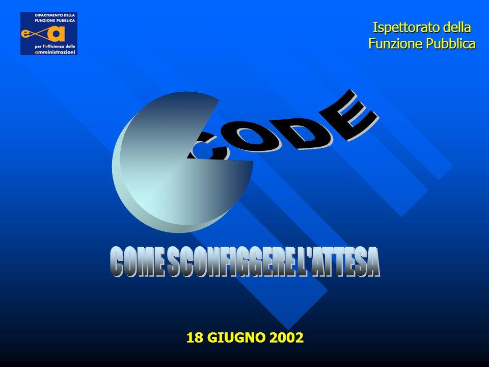 Ispettorato della Funzione Pubblica 18 GIUGNO 2002