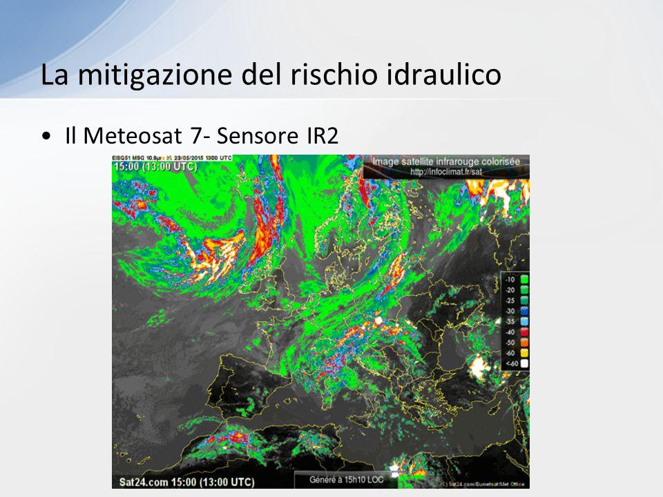 Il Meteosat 7- Sensore IR2 La mitigazione del rischio idraulico