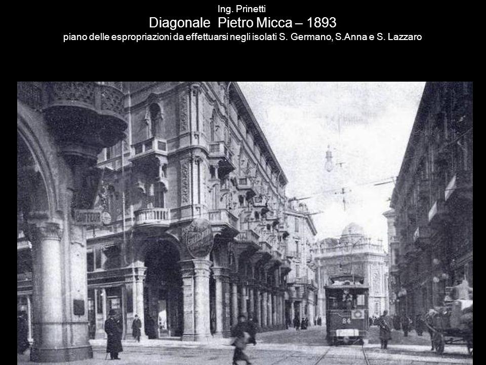 Riva destra del Po – Veduta del Borgo del Rubatto archivio Brogi (1890)