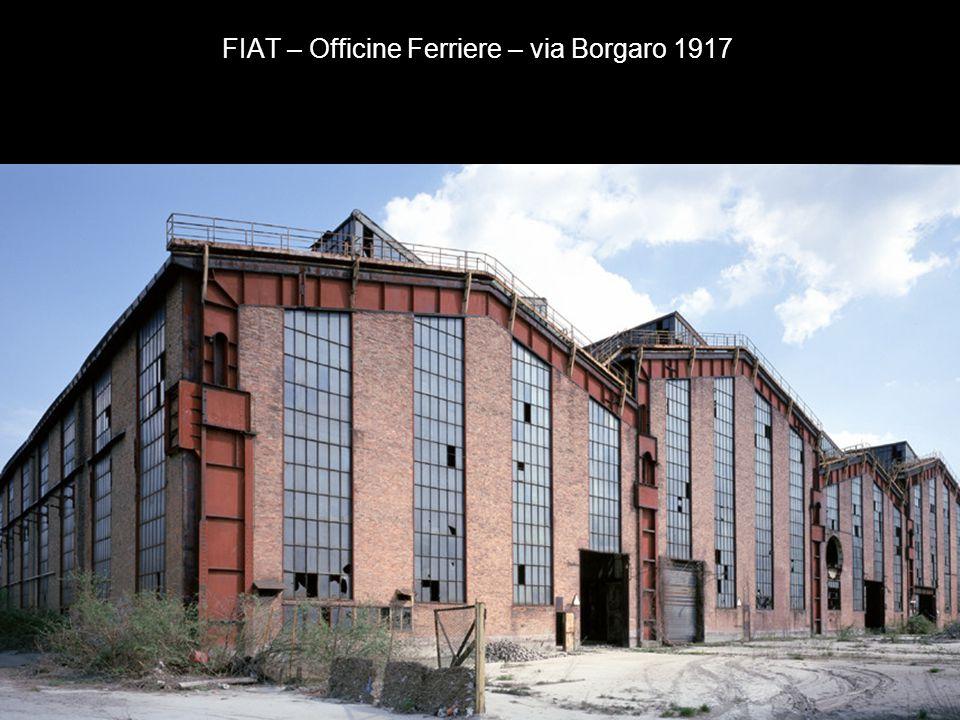 FIAT – Officine Mirafiori – corso G. Agnelli 1936