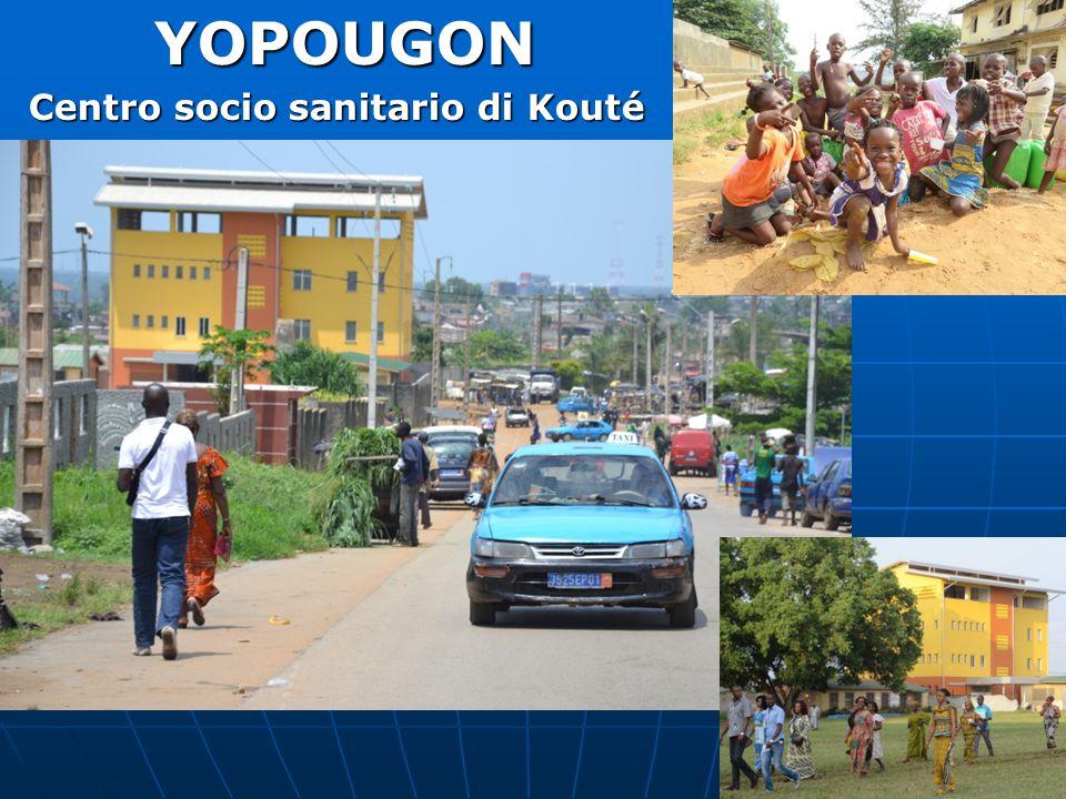 YOPOUGON Centro socio sanitario di Kouté
