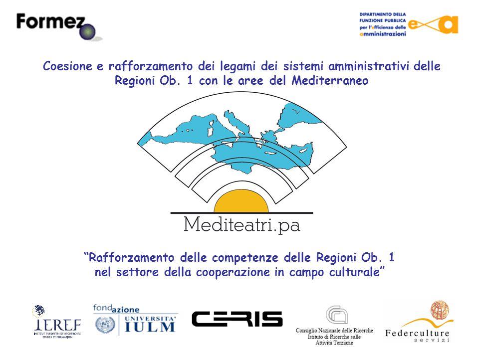 Il Contesto La nuova politica di prossimità dell'Unione Europea ribadisce e consolida l'importanza strategica del partenariato euro- mediterraneo, già contenuta nella dichiarazione di Barcellona del 1995 Nell'ottica dell'allargamento, i siti archeologici rappresentano un patrimonio inestimabile: i teatri greci e romani che si trovano disseminati lungo le coste del Mediterraneo, si prestano a diventare importanti luoghi di turismo culturale eco-sostenibile e a costituire una fonte di ricchezza per i territori che li ospitano L'interesse per questa linea di sviluppo, comune a tutti i Paesi del Mediterraneo, è testimoniato da numerosi documenti di cooperazione: la dichiarazione di Barcellona (1995); la dichiarazione di Segesta (1995); la Carta del turismo mediterraneo (Casablanca 1995); la Carta di Siracusa (2005).