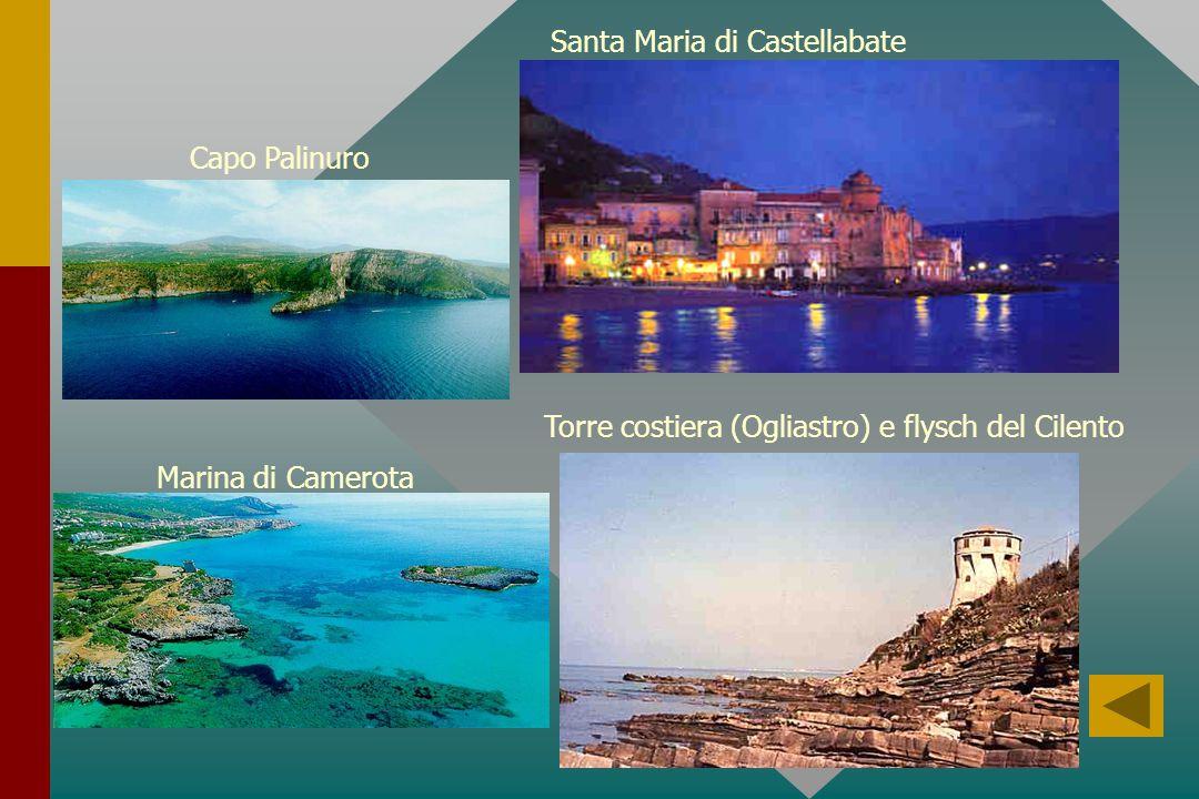 Torre costiera (Ogliastro) e flysch del Cilento Santa Maria di Castellabate Capo Palinuro Marina di Camerota