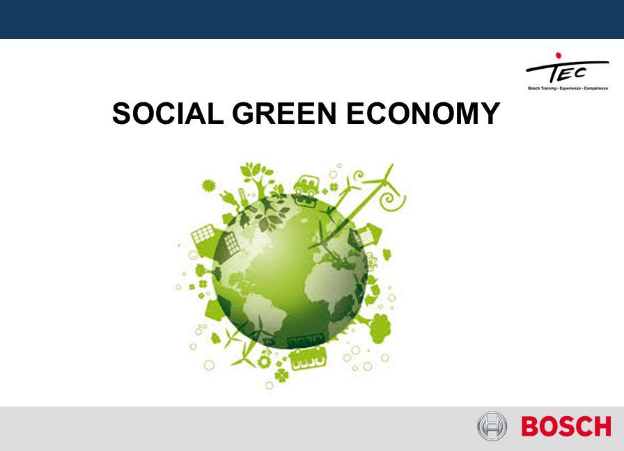 SOCIAL GREEN ECONOMY