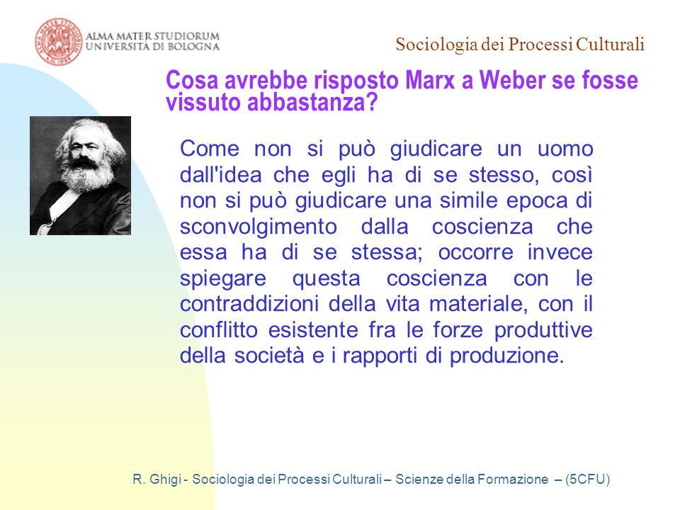 Sociologia dei Processi Culturali R.