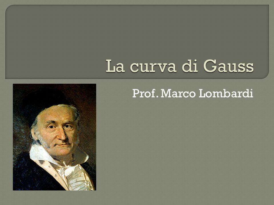  La gaussiana (curva di Gauss) è un concetto matematico abbastanza avanzato, ma che ha notevoli implicazioni con il mondo reale.