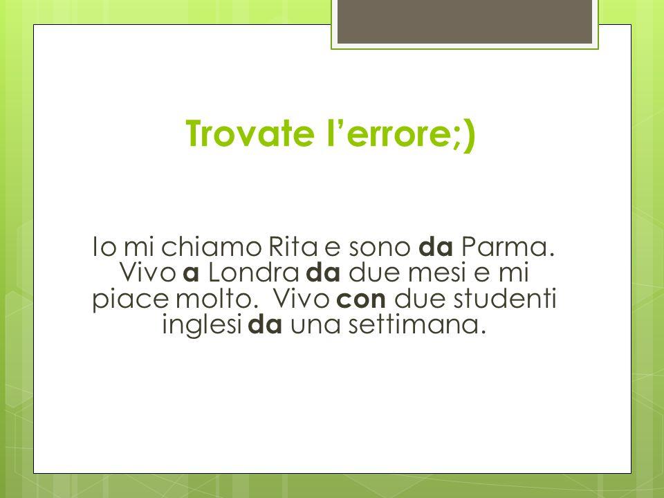 Sono di Parma.