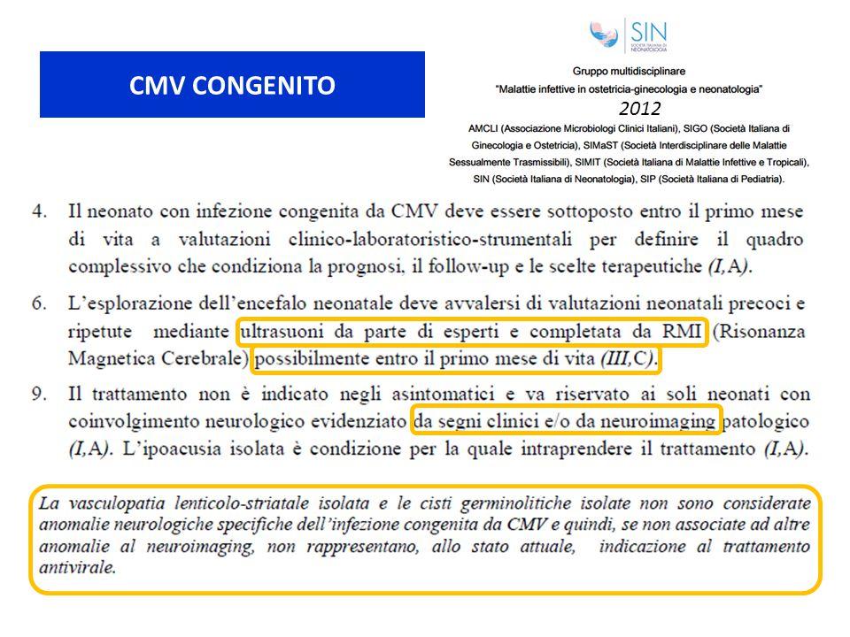 CMV CONGENITO 2012