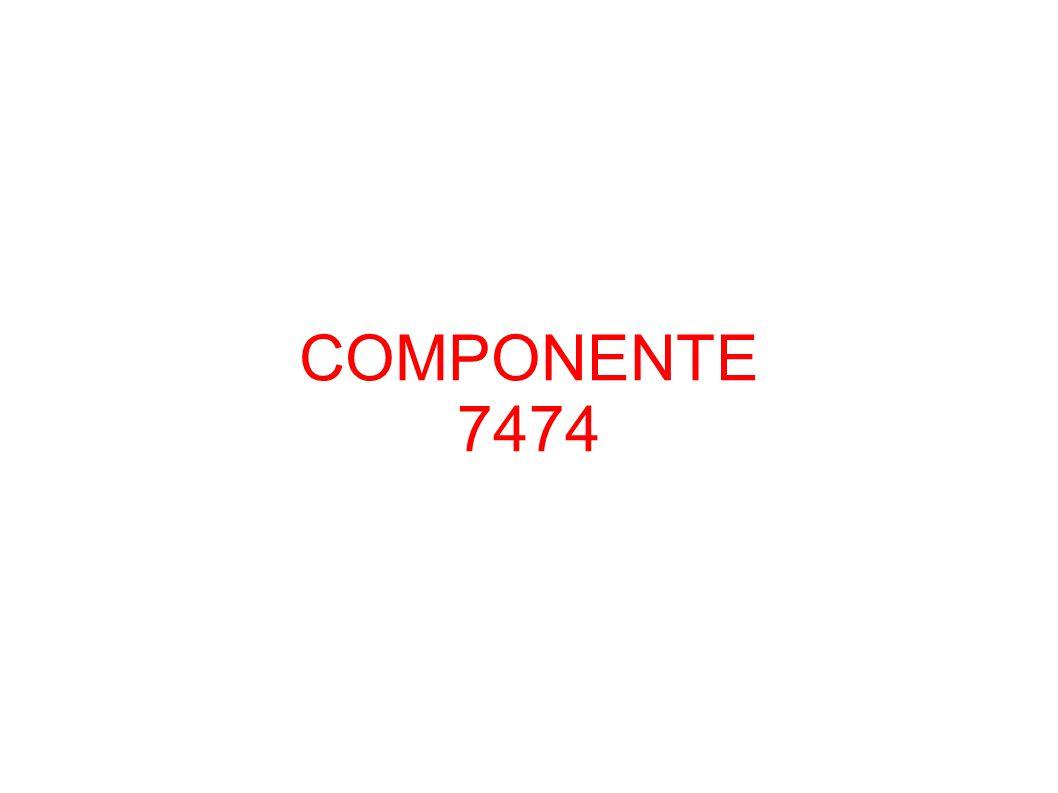 COMPONENTE 7474