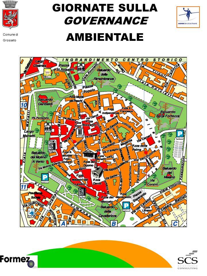 GIORNATE SULLA GOVERNANCE AMBIENTALE Comune di Grosseto
