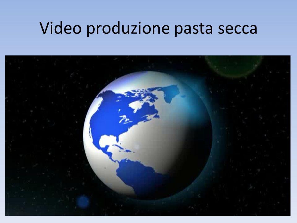 Video produzione pasta secca