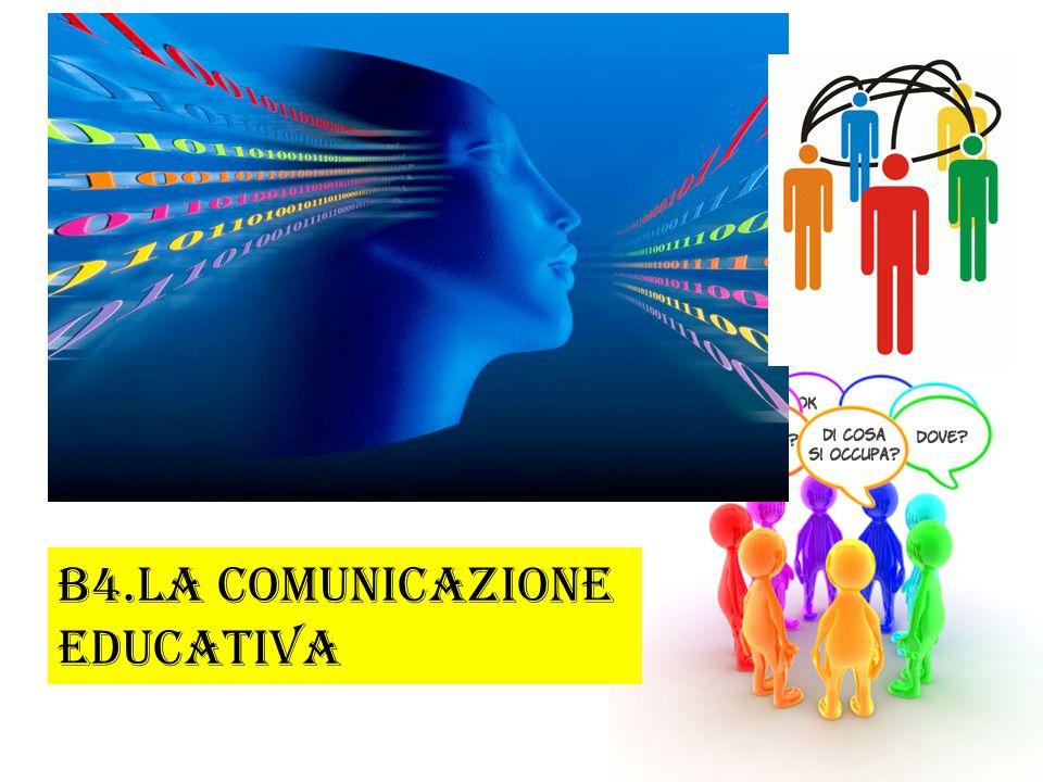 B4.LA COMUNICAZIONE EDUCATIVA