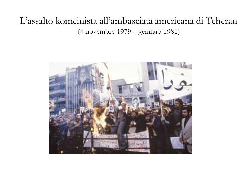 L'assalto komeinista all'ambasciata americana di Teheran (4 novembre 1979 – gennaio 1981)