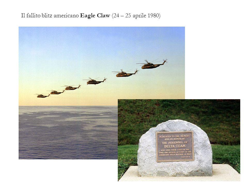 Il fallito blitz americano Eagle Claw (24 – 25 aprile 1980)