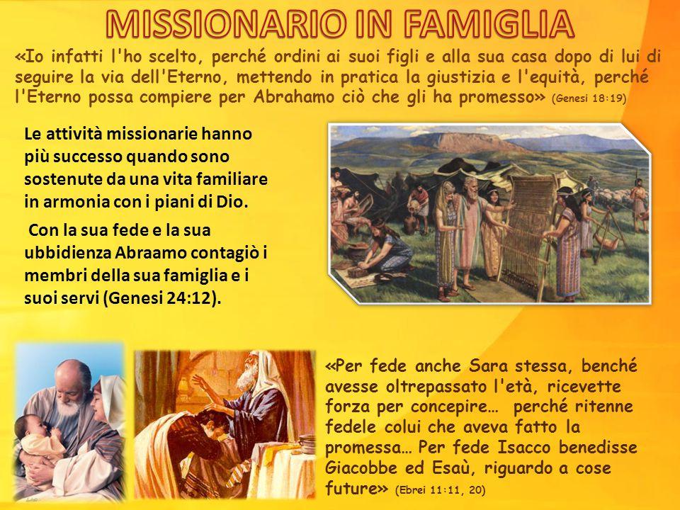 «Io infatti l'ho scelto, perché ordini ai suoi figli e alla sua casa dopo di lui di seguire la via dell'Eterno, mettendo in pratica la giustizia e l'e