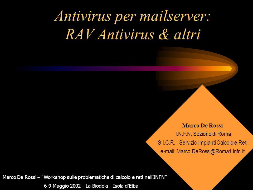 RAV Antivirus E' stato installato con successo ed e' un pacchetto unico che ha tutto il necessario nel proprio kit di installazione.