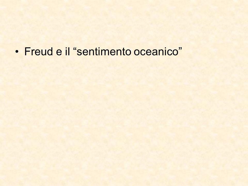 Freud e il sentimento oceanico