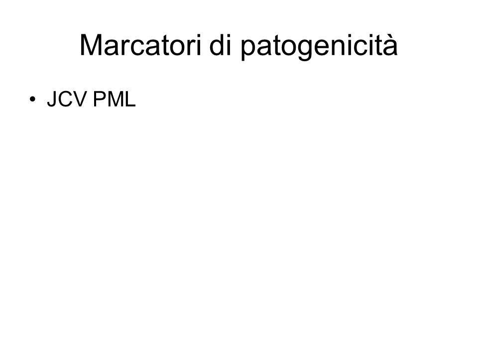 Marcatori di patogenicità JCV PML