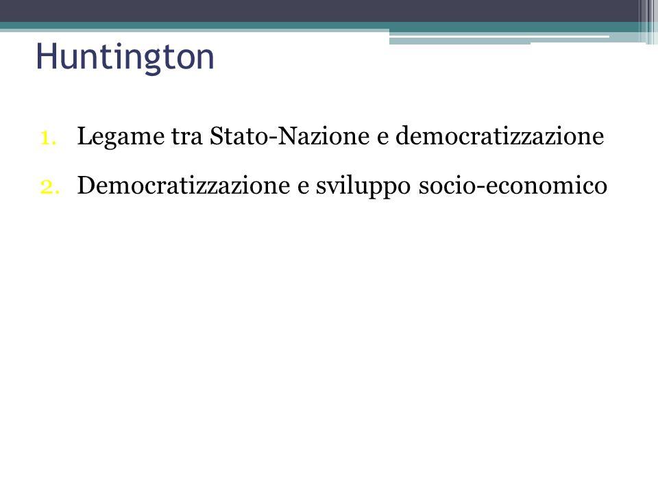Linz e Stepan: i sistemi politici Democratico Totalitario Autoritario Post–totalitario Sultanistico.